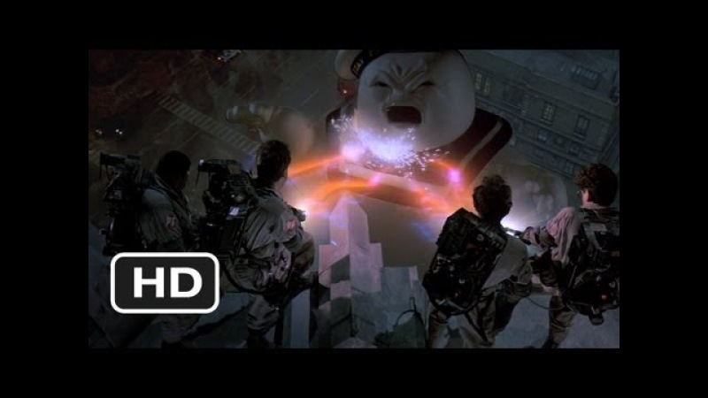 Ghostbusters (88) The Stay Puft Marshmallow Man Movie CLIP - (1984) HD