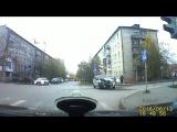 Ужасная авария на светофоре