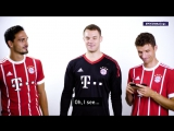 Звезды FIFA 18 прочитали комментарии о себе