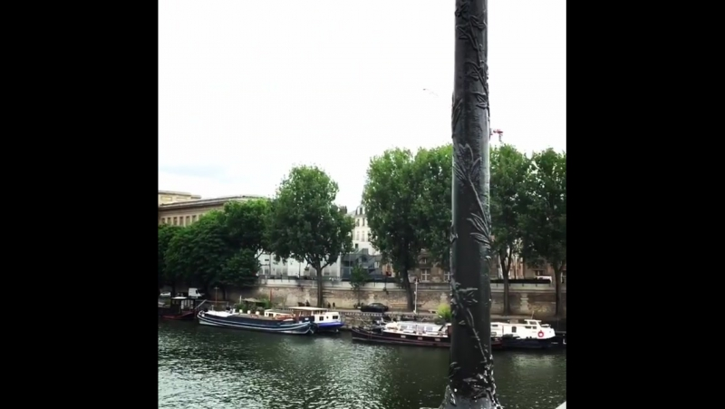 River seine tranquility 🇫🇷 trip happiness... Париж 03.06.2017