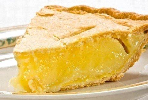 Нежный лимонный пирог Ингредиенты: Сметана — 250 г Сливочное