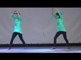 Танец Хватит учить - давай танцевать! (hip-hop) - Соня и Ксюша Макиенко. Битва т (1)