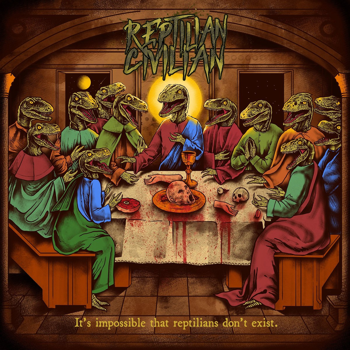 Reptilian Civilian - It's Impossible That Reptilians Don't Exist [EP] (2017)