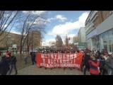 Социальный марш в защиту пенсионеров и ветеранов 23.04.2017Самара