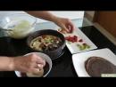 ТОРТ КОЖАНЫЙ Блинный ТОРТ МУСС с фруктами ОЧЕНЬ ВКУСНЫЙ Как приготовить Муссовый