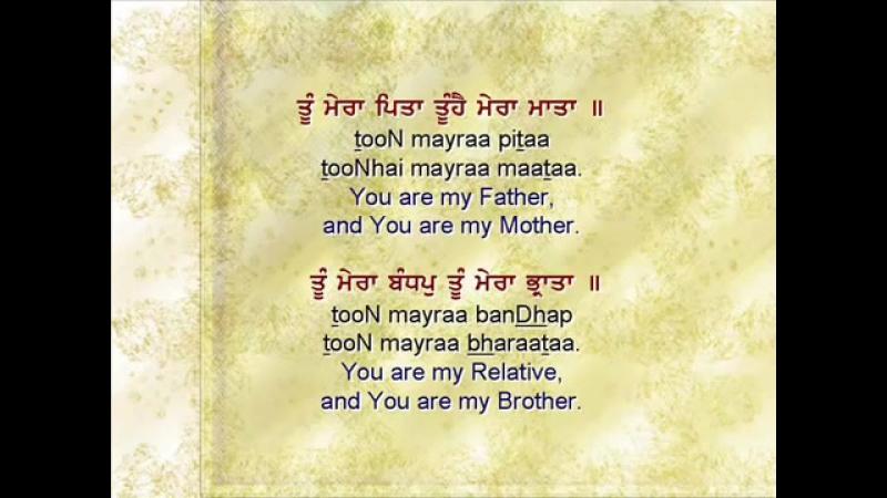 Bhai Gopal Singh Jee - Too Mera Pitaa