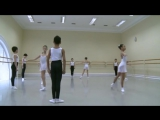 Vaganova Ballet Academy. Historical dance. 1st class. 2012,полонез,па де грас, полька,вальс,рус народ