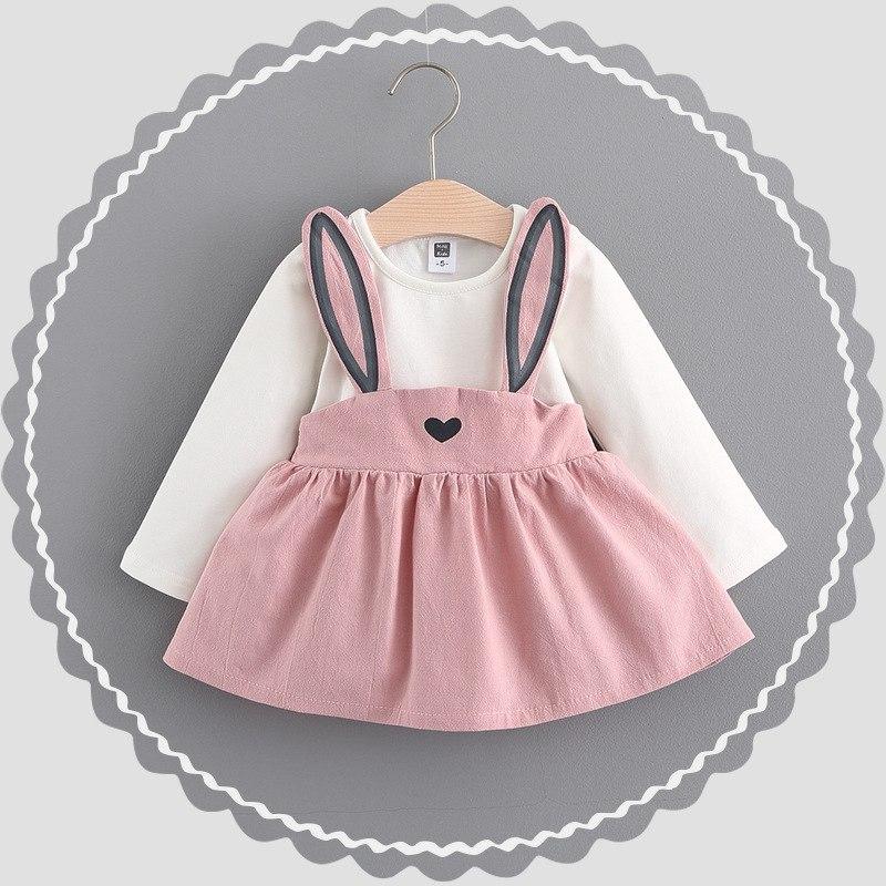 Платье для девочки 1-3 лет 3 цв