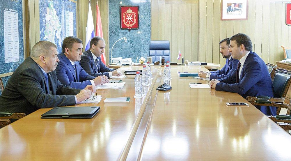 Обсудили развитие особой экономической зоны «Узловая