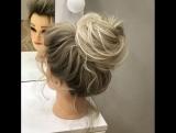 Моя любимая причёска, очень нежно!