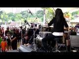 Mark Ronson - Uptown Funk ft. Bruno Mars LIVE Drum Cover by Nur Amira Syahira