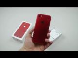 Красный iPhone 7 прошел тест на устойчивость к огню