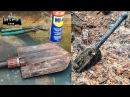 Немецкая складная сапёрная лопатка с блиндажа Engineer shovel EE88