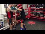Liam Harrison Thai Boxing seminar, new techniques.