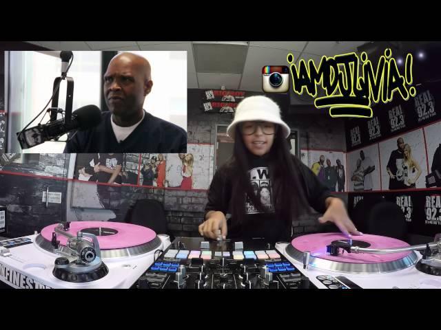 Dr Dre Tribute By 8yr old DJ Livia