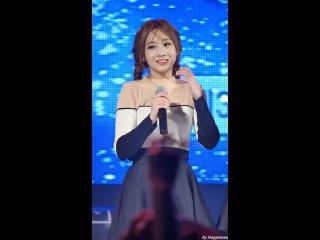 160923 러블리즈 (Lovelyz) - 그대에게 (For You) (지애 Ji-Ae) 부산가톨릭대 축제 직캠 Fancam By Happiness