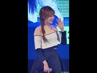 160923 러블리즈 (Lovelyz) - 안녕 (Hi~) (지애 Ji-Ae) 부산가톨릭대 축제 직캠 Fancam By Happiness