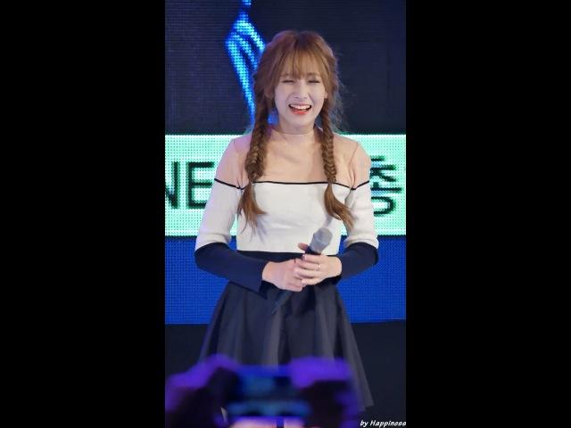 JIAE 160923 러블리즈 Lovelyz 아츄 Ah Choo 관람차 지애 Ji Ae 부산가톨릭대 축제 직캠 Fancam By Happiness