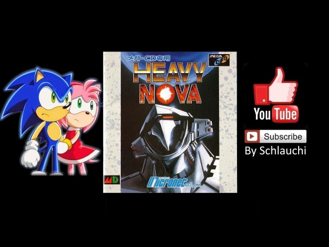 Heavy Nova [1991] (Sega CD) Walkthrough / プレイスルー By Schlauchi