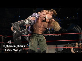 #My1 FULL MATCH  Fatal 4-Way WWE Title Match: Backlash 2007 (WWE Network Exclusive)