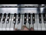 Самая легкая мелодия на пианино - урок для новичков #1