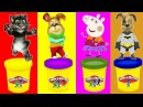 Говорящий Кот Том Герои в масках Свинка Пеппа Барбоскины мультики