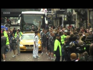 Olympic Torch Relay on James Mcavoy 2012