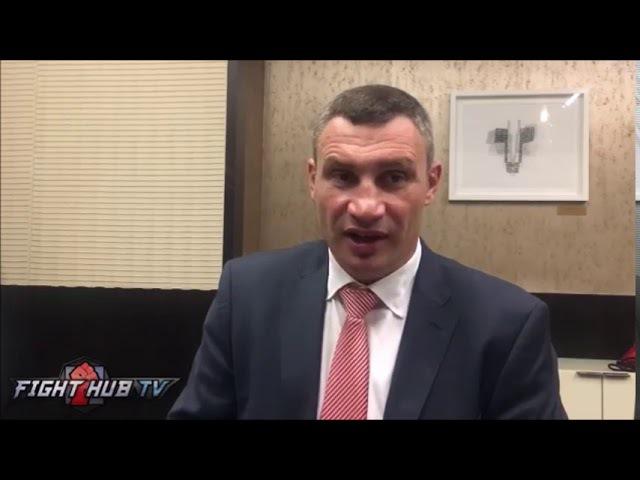 Виталий Кличко: Я бы нокаутировал Джошуа, но не могу этого сделать dbnfkbq rkbxrj: z ,s yjrfenbhjdfk l;jief, yj yt vjue 'njuj