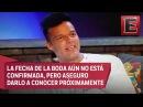 Ricky Martin contempla casarse en la primavera del próximo año