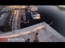 Пацан прыгнул в воду с крыши 40 метрового здания