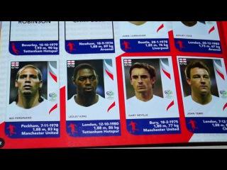 Panini 2006 FIFA World Cup Germany l PANINI Чемпионат Мира 2006 обзор альбома с наклейками!