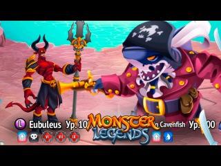 Кавенфиш Босс Пиратский Острова 220 остава карты странствий Monster Legends
