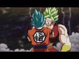 Kale vs Goku (Kale Super Saiyan Berserker vs Goku blue) Kale SSGSS Level  Subs 1080p Super #100