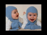 How to knit the Aviator baby helmet hat