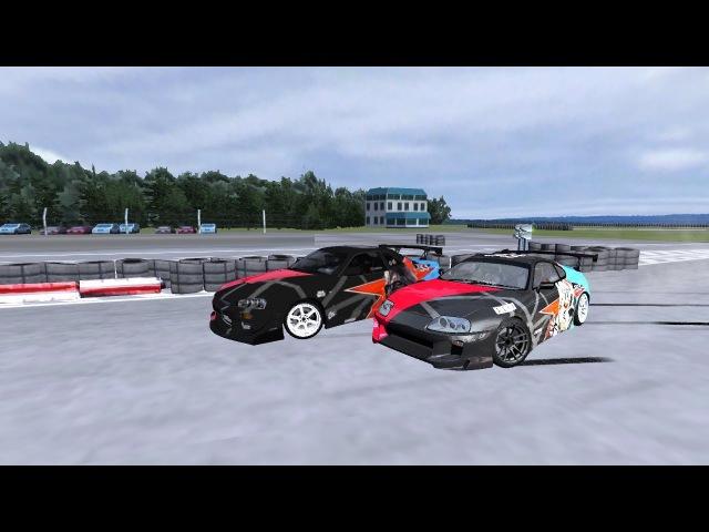 EE | BoRoDa4 _ EE | VeRteX || rFactor ForZe Drifting || ADM RACEWAY ||