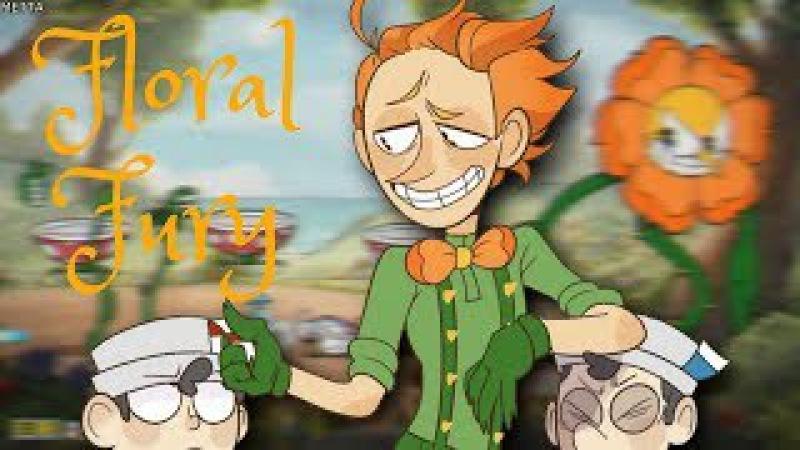 【CUPHEAD】FLORAL FURY!