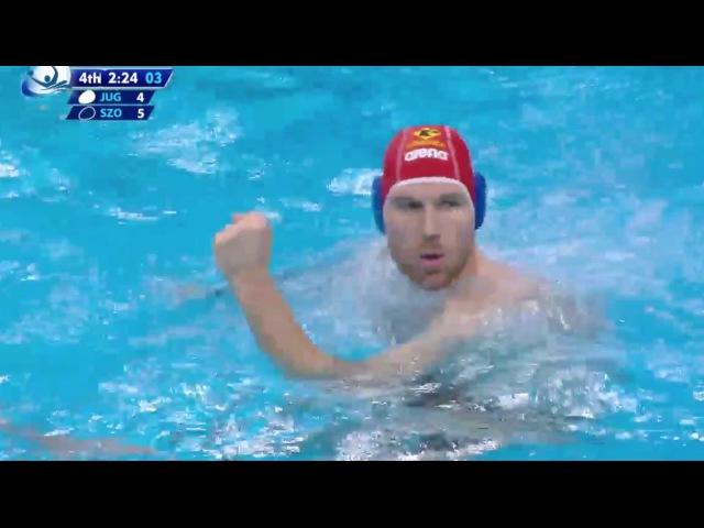 Water-polo : Jug Dubrovnik - Szolnok : Ligue des Champions 2016-2017 (Les buts) - Finale
