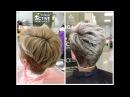 Осветление коротких волос: окрашивание блонд Bleaching short hair