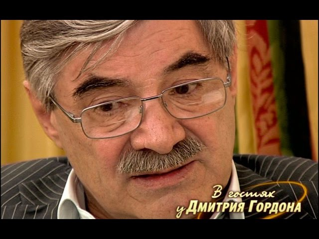 Александр Панкратов-Чёрный. В гостях у Дмитрия Гордона. 1/3 (2012)