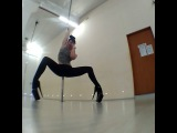Exotic dance. Legwork. Svetlana Yurchak