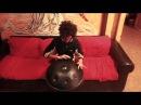 Simone Horus - HOW TO - darbuka Tabla techniques on Hand Pan - Hang Drum