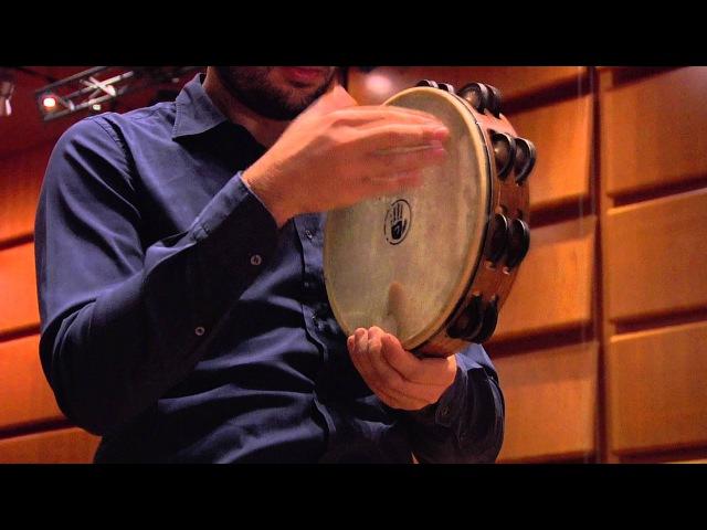 Edoardo Giachino Tambourine Tamburello Basco