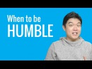Ask a Korean Teacher with Jae - When to be Humble
