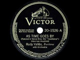 1943 HITS ARCHIVE As Time Goes By - Rudy Vallee (recorded July 1931)