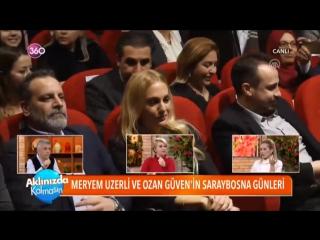 Сюжет программы «Aklınızda Kalmasın» о пресс-конференции фильма «Материнская рана» в Сараево