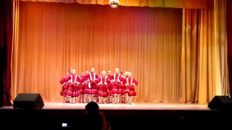Казачий танец... Акварель Самара
