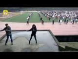 Зарядка в стиле хип-хоп в Чунцине