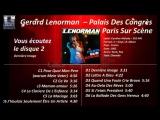 1982 Gerard Lenorman Palais Des Congr