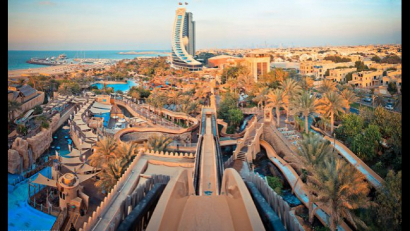 Видео не из Сочи Аквапарк Wild Wadi ОАЭ Дубай 2011