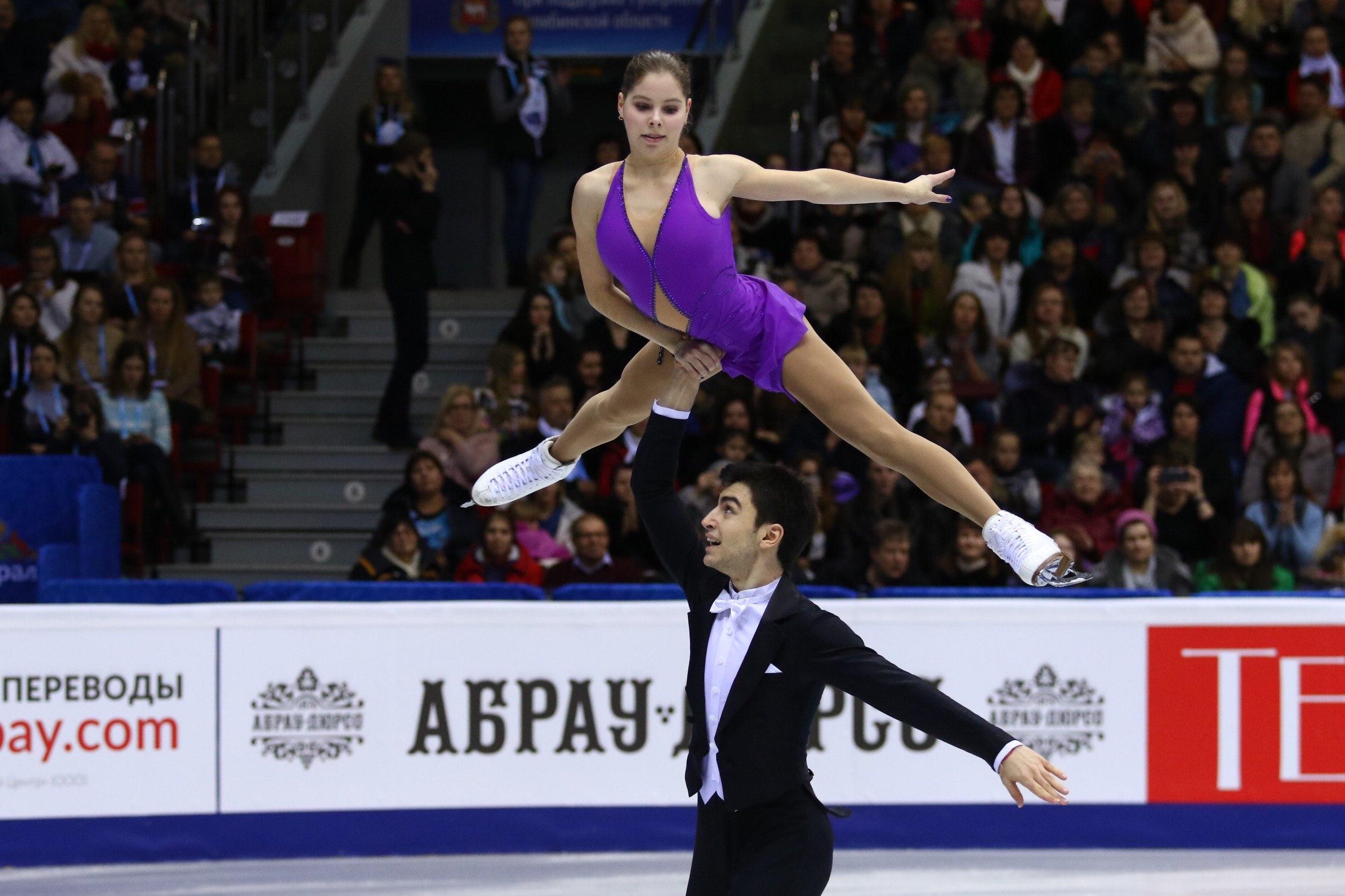 Анастасия Мишина и Владислава Мирзоев (26.12.2016)